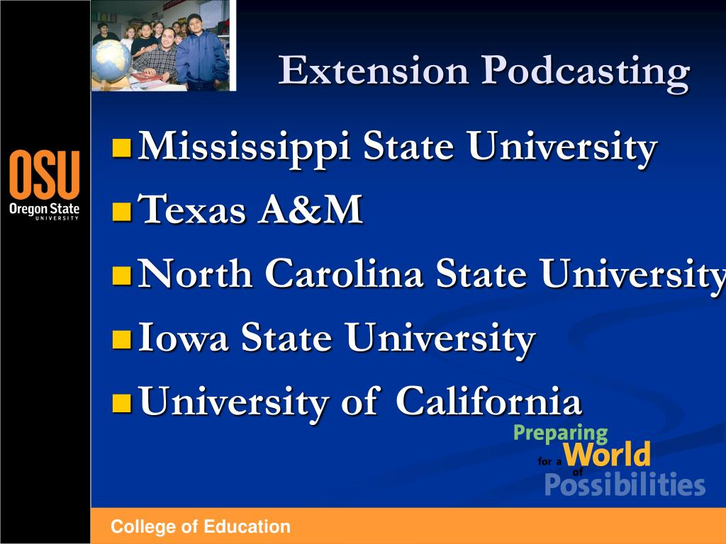 Extension Podcasting