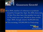 grassroots growth