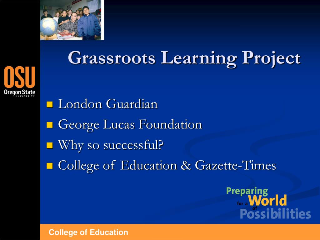 Grassroots Learning Project
