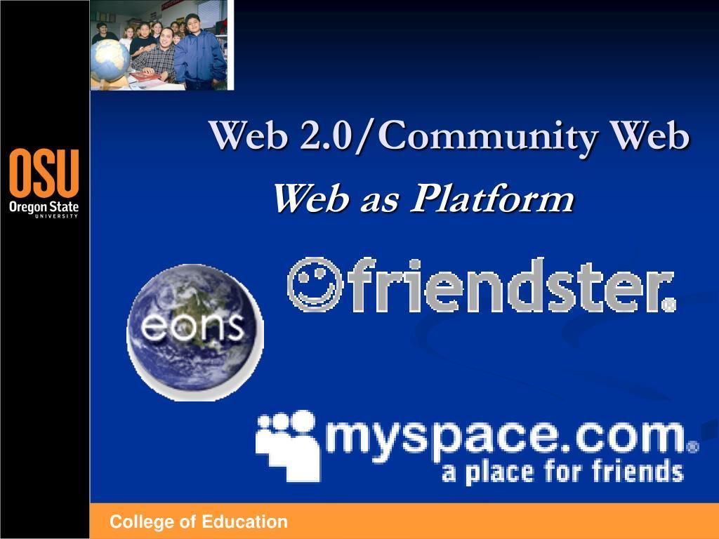 Web 2.0/Community Web