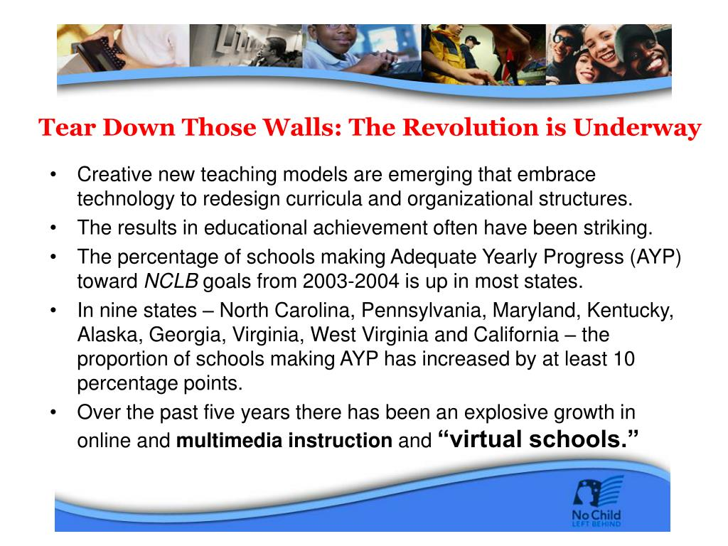Tear Down Those Walls: The Revolution is Underway