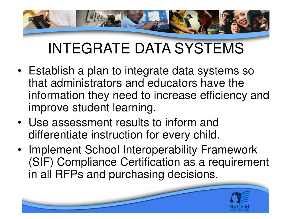 INTEGRATE DATA SYSTEMS