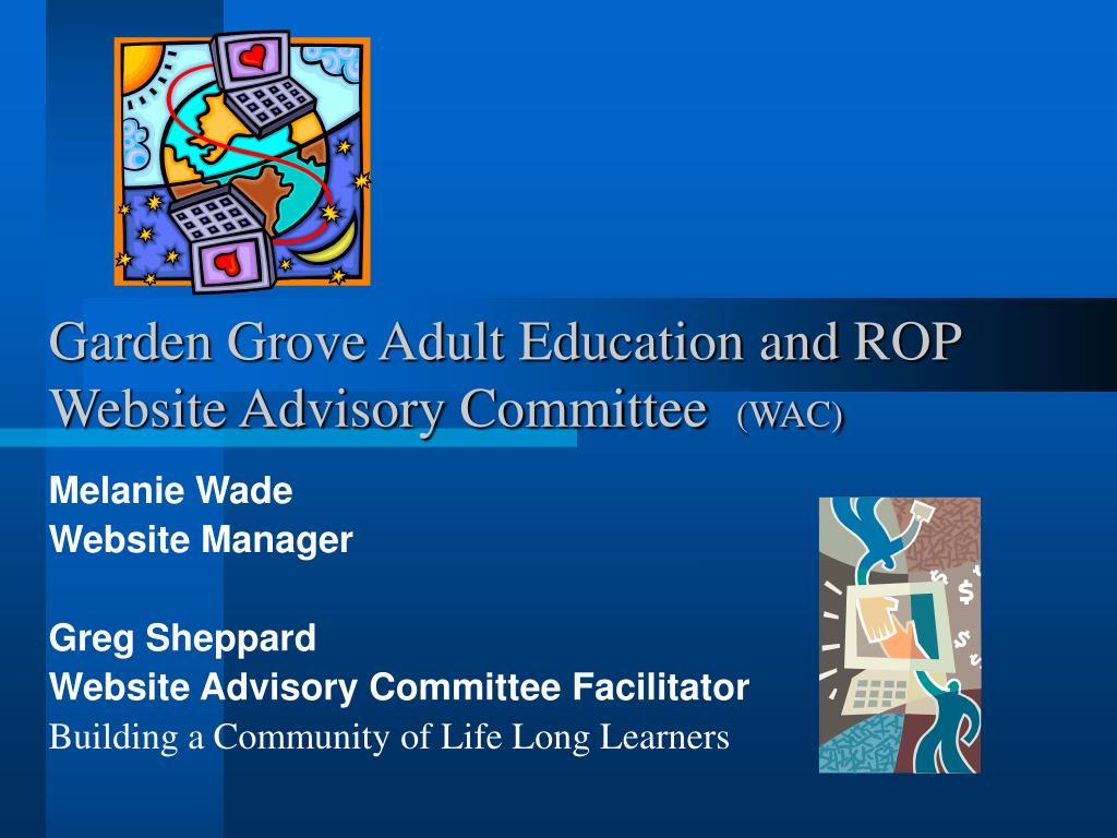 Garden Grove Adult Education and ROP