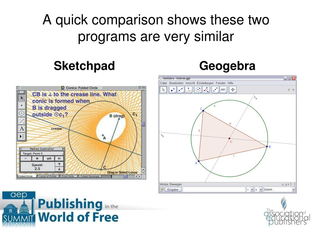 A quick comparison shows these two programs are very similar