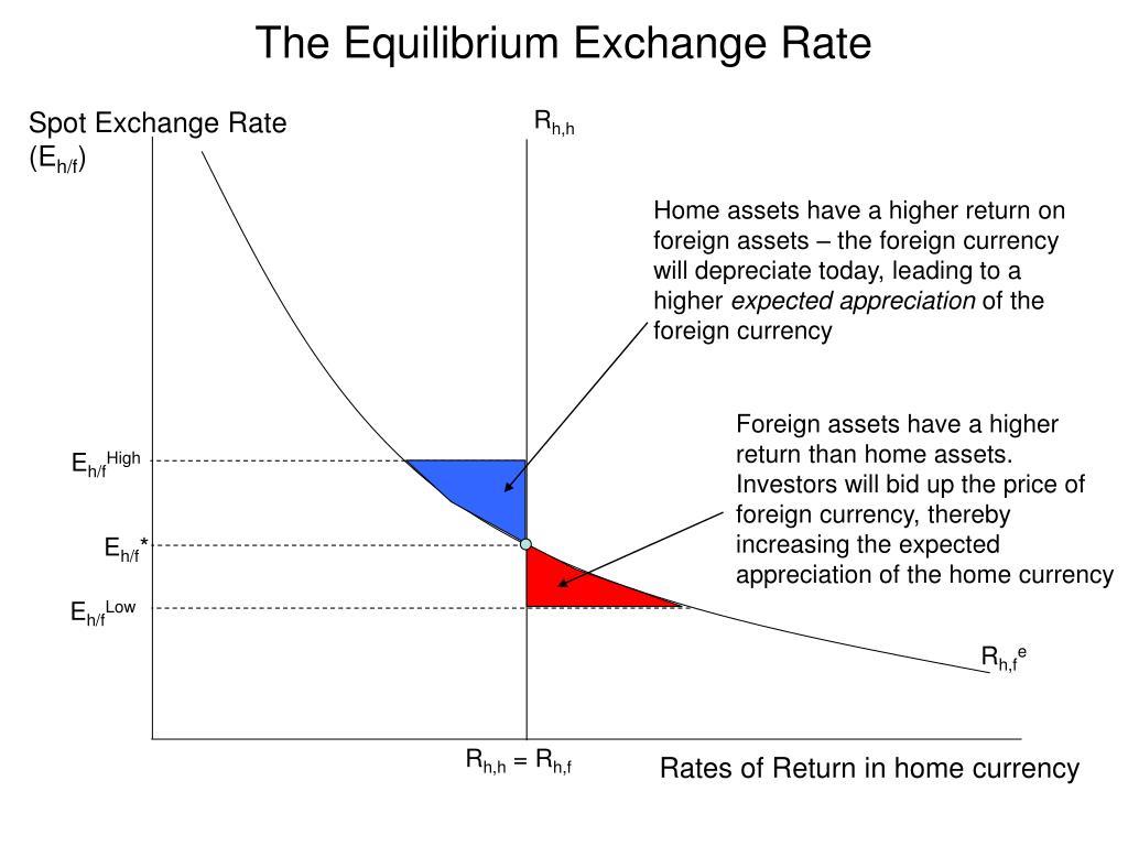 The Equilibrium Exchange Rate