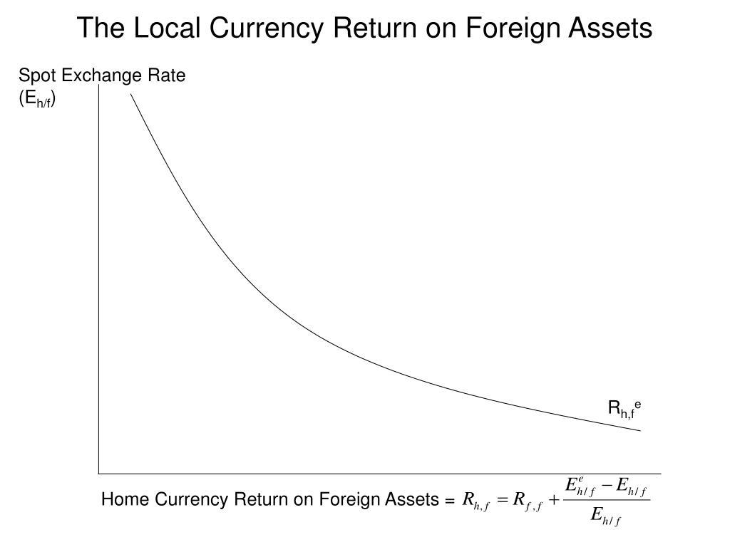 Spot Exchange Rate (E
