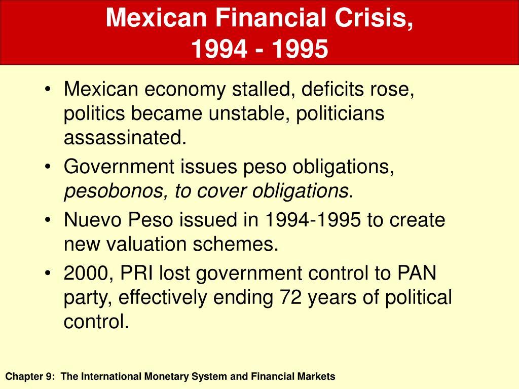Mexican Financial Crisis,