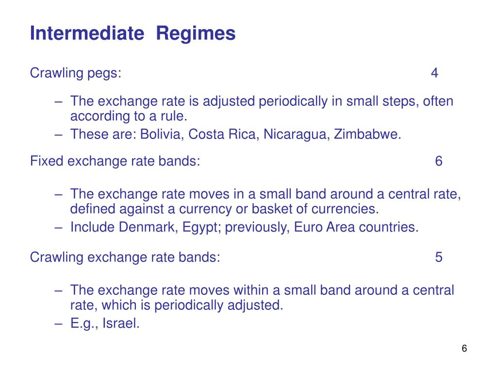 Intermediate  Regimes