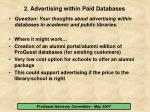2 advertising within paid databases10