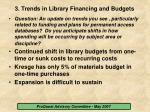 3 trends in library financing and budgets