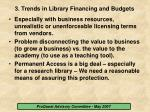 3 trends in library financing and budgets12