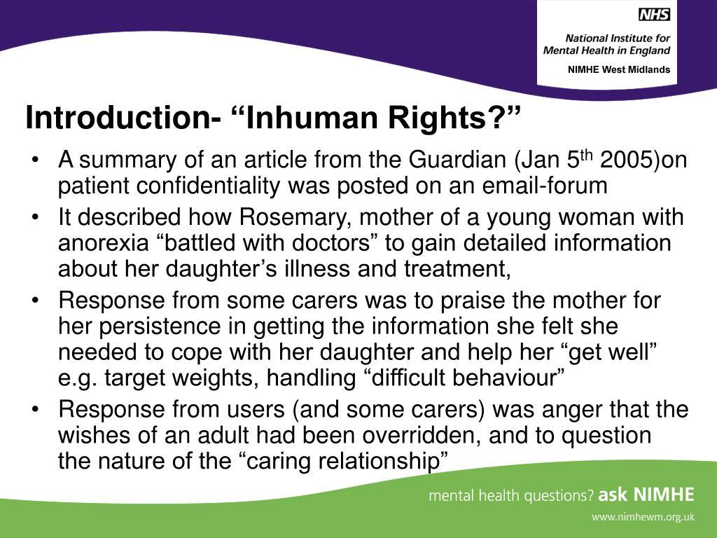 "Introduction- ""Inhuman Rights?"""