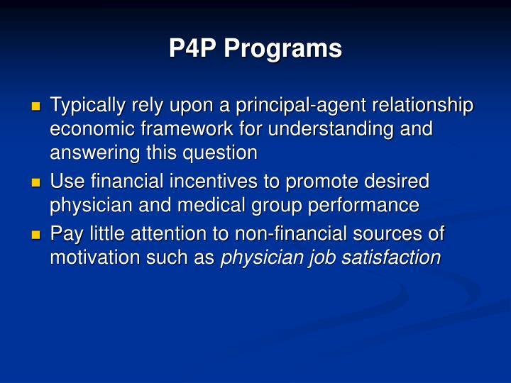 P4p programs