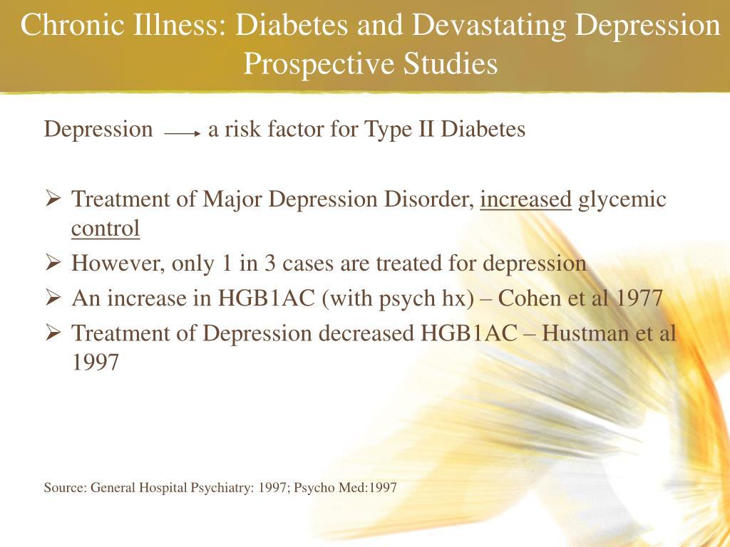 Chronic Illness: Diabetes and Devastating Depression