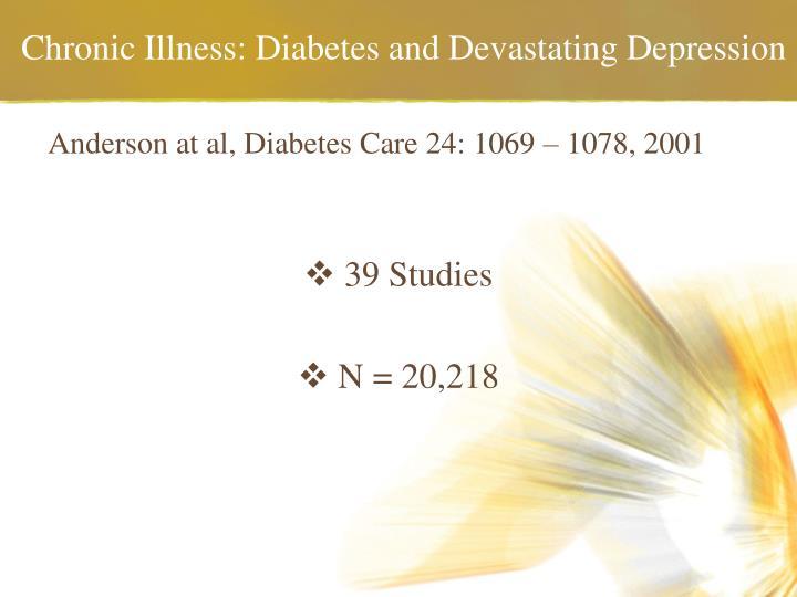 Chronic illness diabetes and devastating depression3