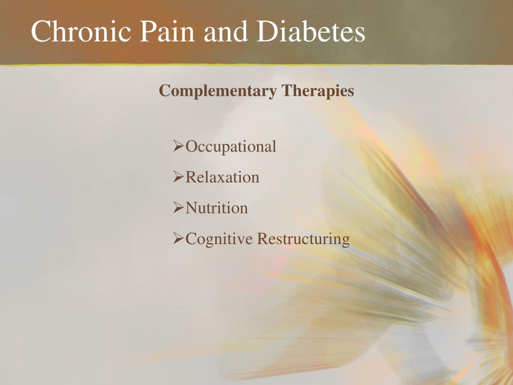 Chronic Pain and Diabetes