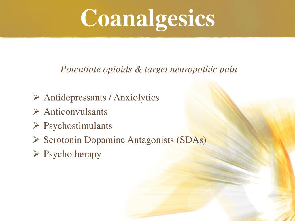 Coanalgesics