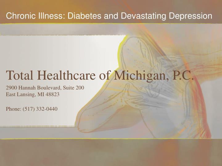 Total healthcare of michigan p c