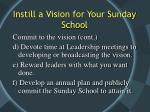 instill a vision for your sunday school13