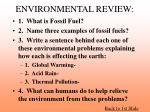environmental review