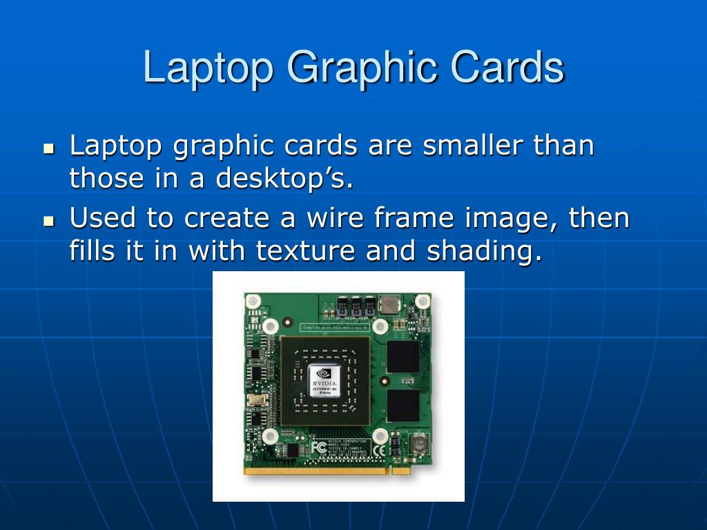 Laptop Graphic Cards