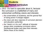 students formal curriculum19