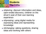 students the 3 x s