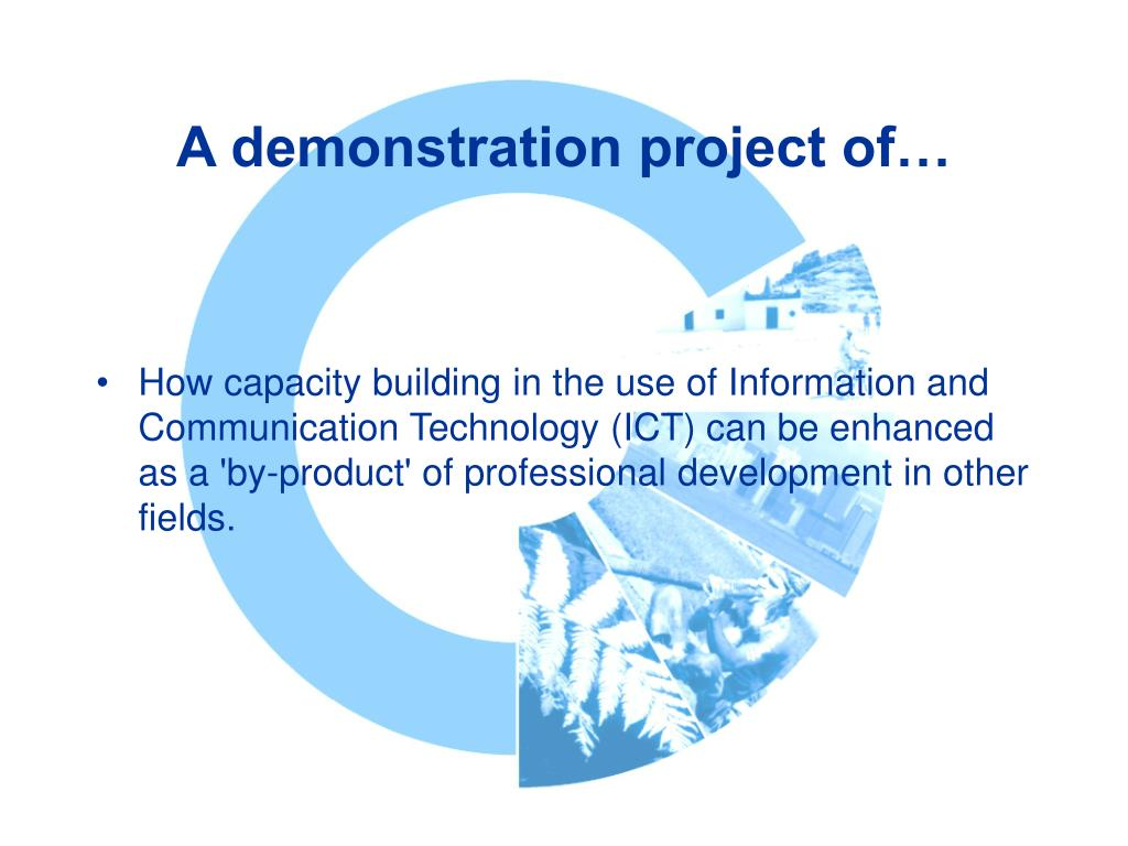 A demonstration project of…