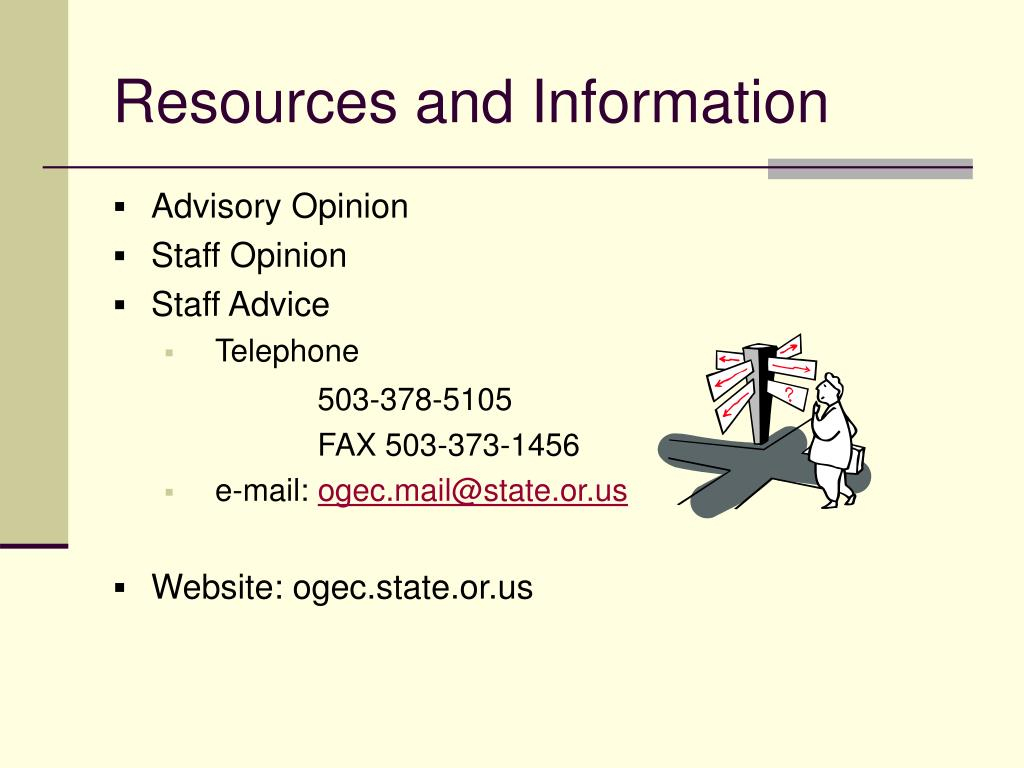 Resources and Information
