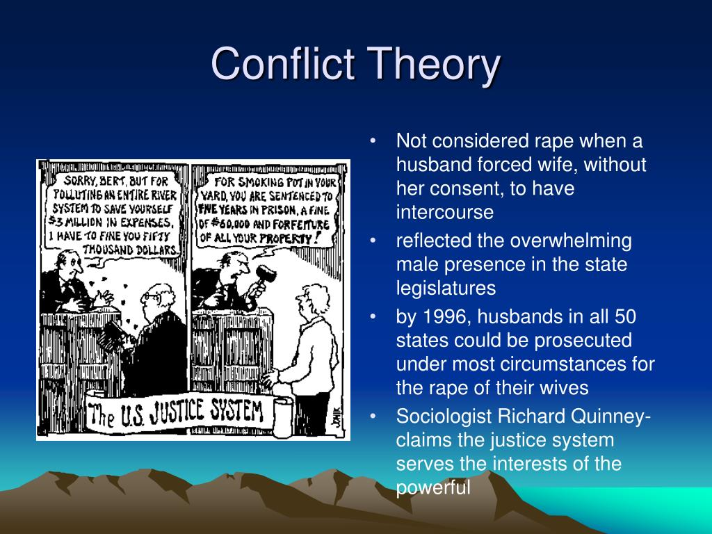 conflict theory homelessness How can the answer be improved.