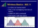 wireless basics 802 11