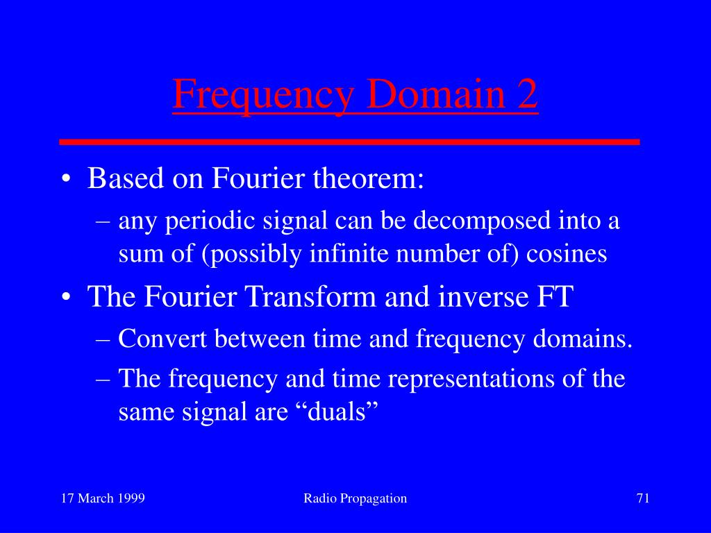 Frequency Domain 2