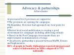 advocacy partnerships achievements13