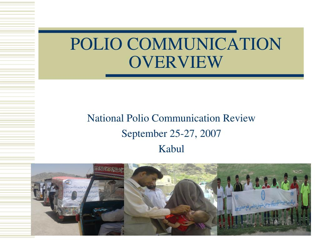 polio communication overview l.