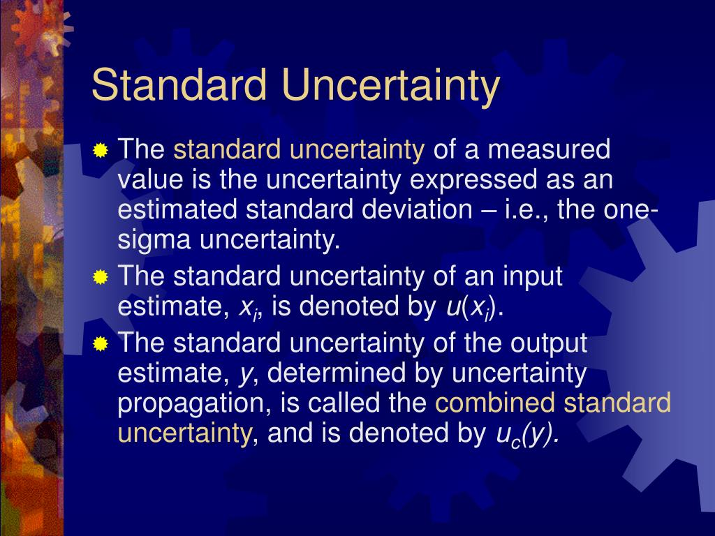 Standard Uncertainty
