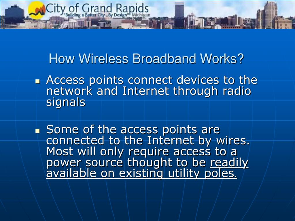How Wireless Broadband Works?