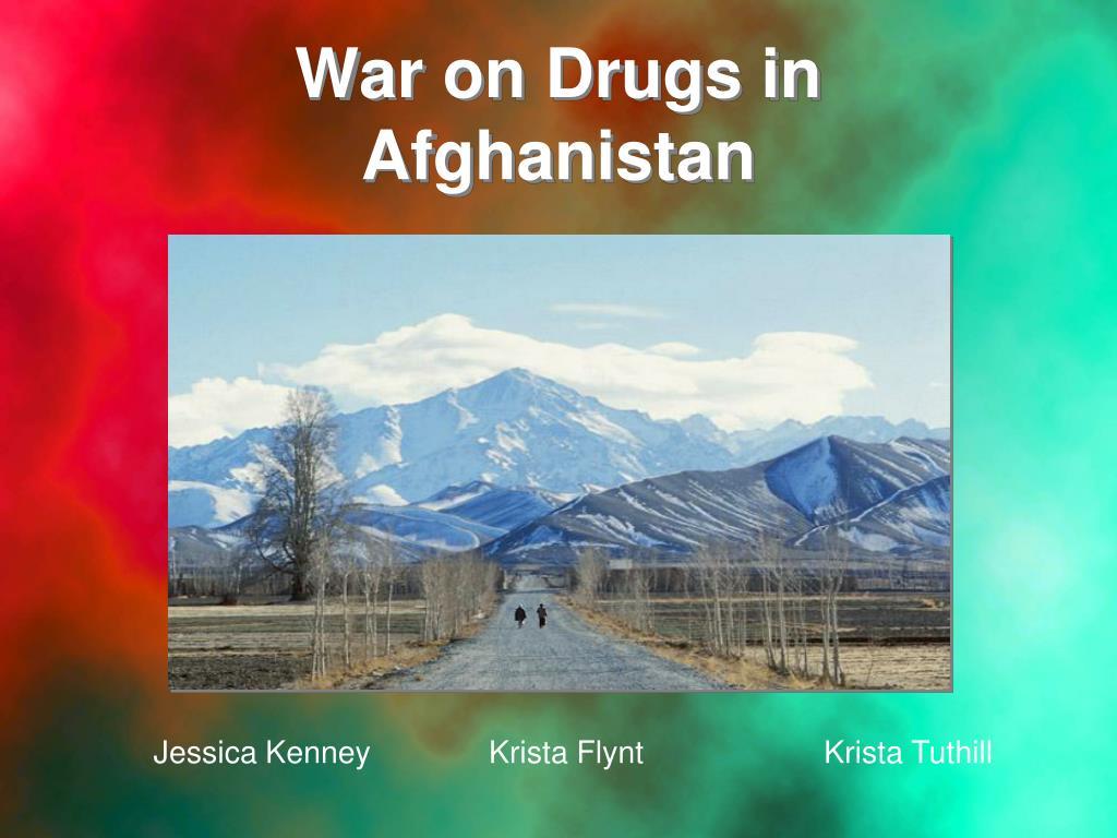 War on Drugs in Afghanistan