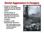 soviet aggression in hungary