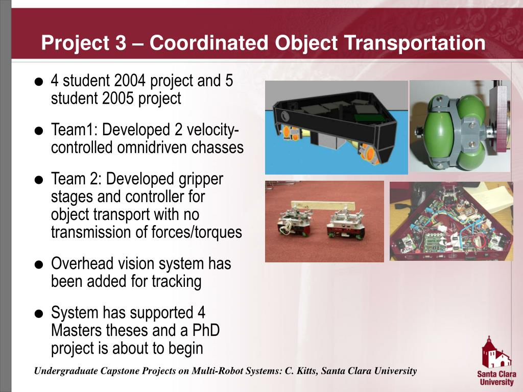 Project 3 – Coordinated Object Transportation