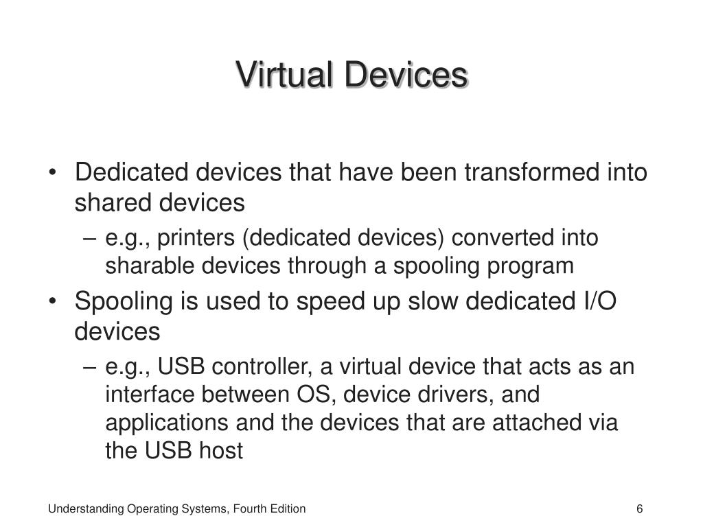 Virtual Devices