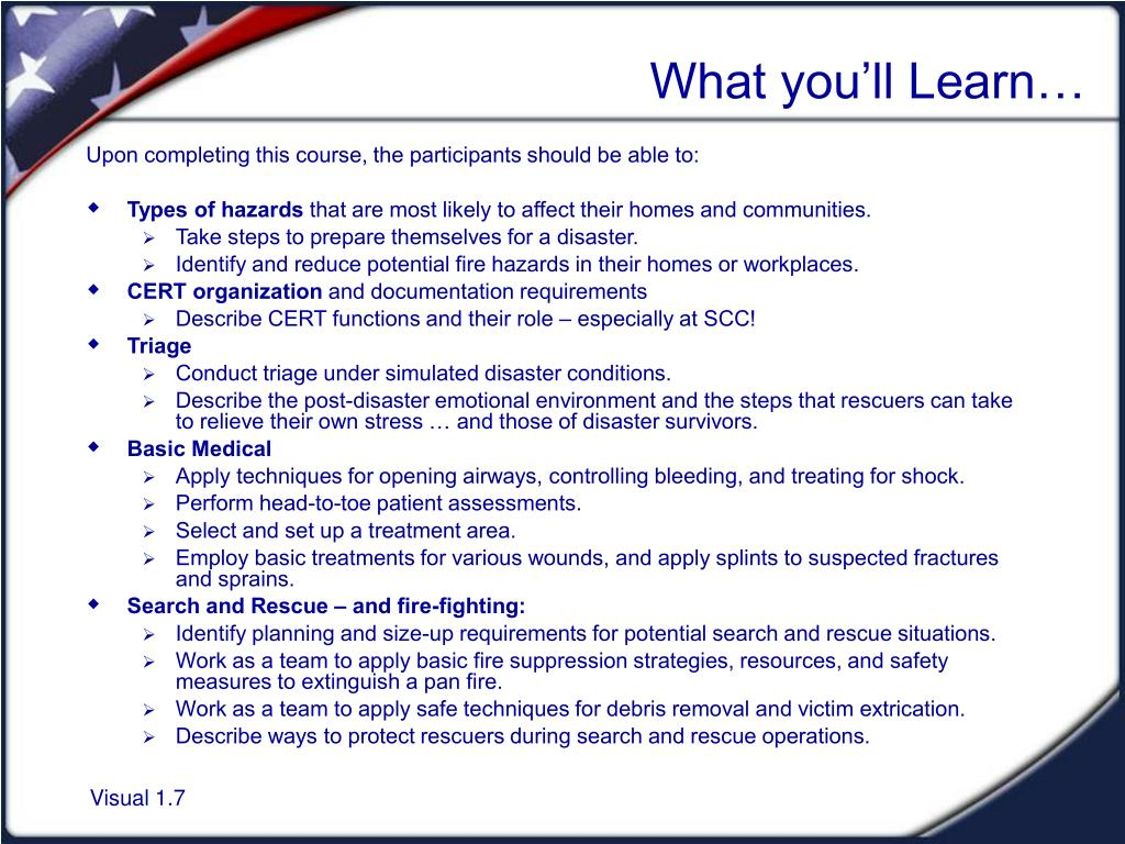 What you'll Learn…
