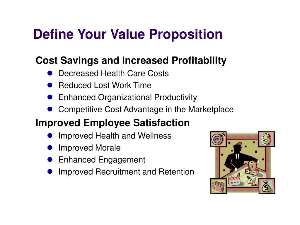 Define Your Value Proposition