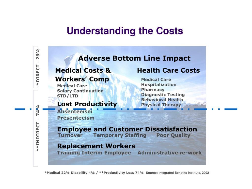 Understanding the Costs