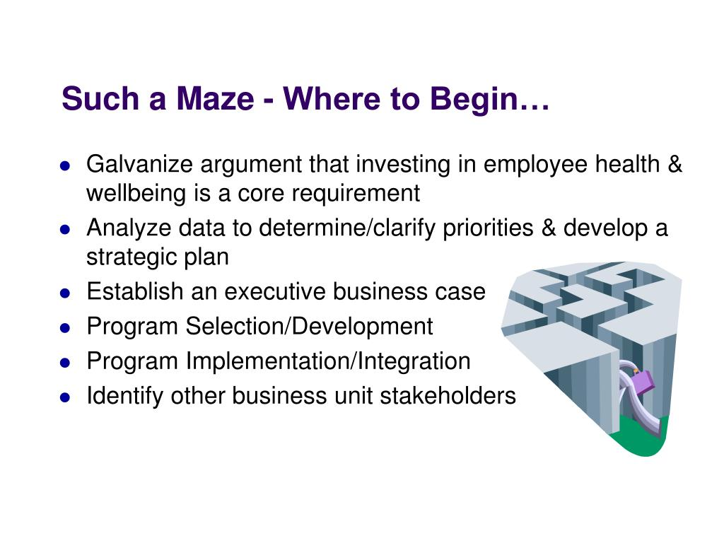 Such a Maze - Where to Begin…