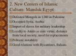 2 new centers of islamic culture mamluk egypt