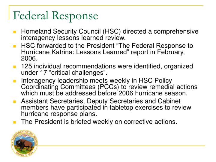 emergency management response to hurricane katrina essay Emergency management: hurricane katrina and lessons learned in late august, 2005, hurricane katrina became the 11th named storm of the atlantic hurricane season and was its most deadly and destructive.