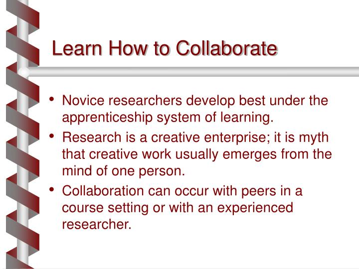 Learn how to collaborate