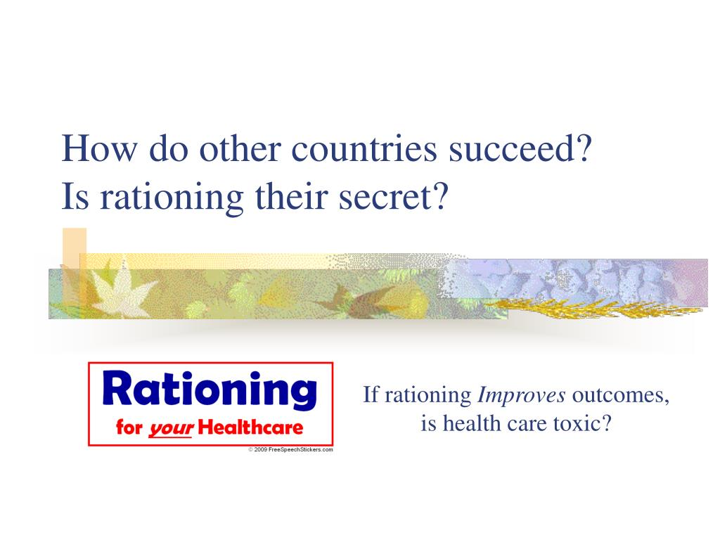 How do other countries succeed?
