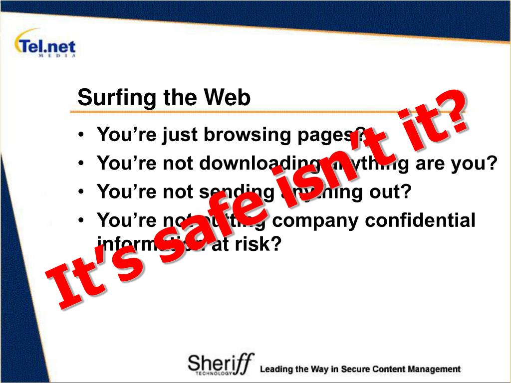 Surfing the Web