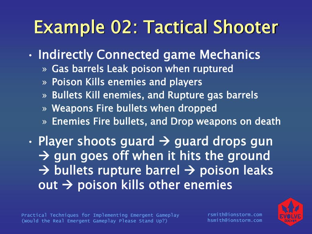 Example 02: Tactical Shooter